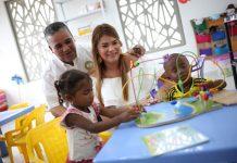 Con la puesta en marcha del CDI del barrio Flor del Campo se benefician muchos menores de esa comunidad cartagenera.